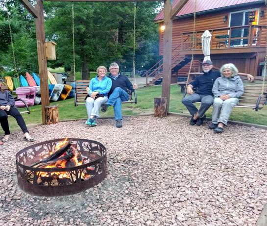 Curriers Lakeview Firepit